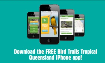 Bird Trails Tropical Queensland Smart Phone Application